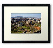 The West End Framed Print