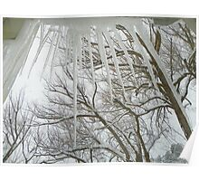 Icicles at the Window Poster