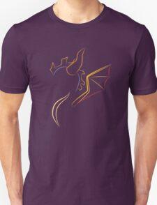 The purple Dragon Unisex T-Shirt