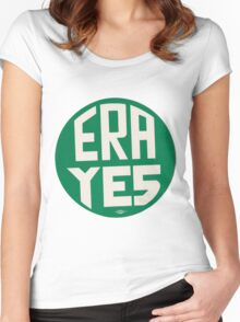 ERA YES Women's Fitted Scoop T-Shirt