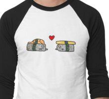 Lovely Sushi Men's Baseball ¾ T-Shirt