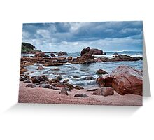 """""""Shore To Sea"""" Greeting Card"""