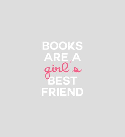 Books Girl's BF Pink Sticker
