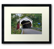 The Horsham Covered Bridge Framed Print