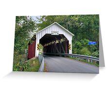 The Horsham Covered Bridge Greeting Card