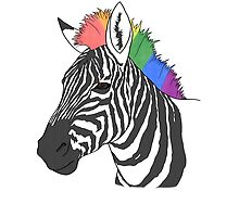 The Pride Zebra - LGBT+ Version by queer-kelloggs