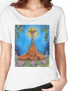 Giraffe Buddha Women's Relaxed Fit T-Shirt