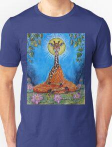 Giraffe Buddha Unisex T-Shirt