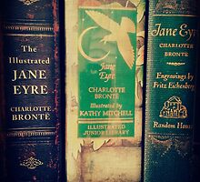 Jane Eyre Library by applesnspindles
