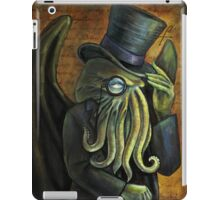 Dapper Cthulhu iPad Case/Skin