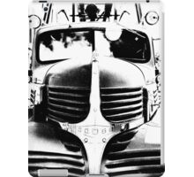 Old Firetruck in Black & White iPad Case/Skin