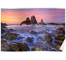 Sunrise Camel Rock beach Poster