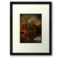 Autumn's Decay Framed Print