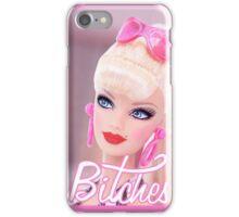 Badass Barbie - Bitches iPhone Case/Skin