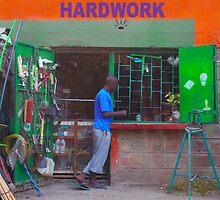 Colourful workshop in Nairobi, KENYA by Atanas Bozhikov Nasko