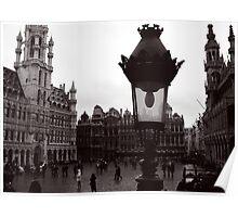 La Grand Place / De Grote Markt - Brussels Poster