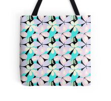 Pastel Flower Garden Pattern Tote Bag