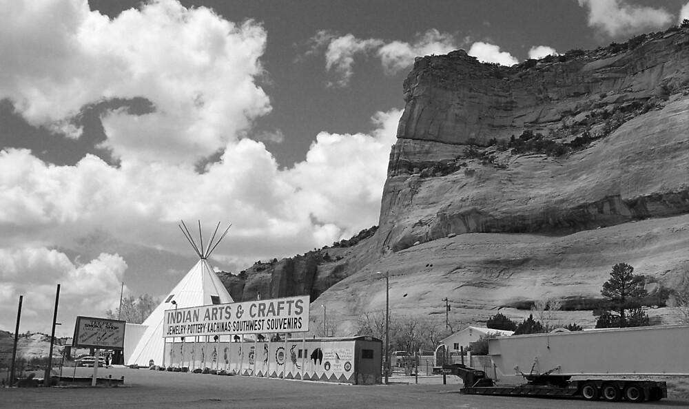 Route 66 - Lupton, Arizona by Frank Romeo