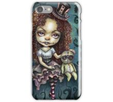Dark Magic Voodoo Girl iPhone Case/Skin