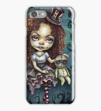 Dark Magic Voodoo Girl iPhone Case/Skin