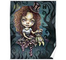 Dark Magic Voodoo Girl Poster