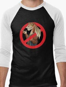 Anti-Jar Jar Men's Baseball ¾ T-Shirt