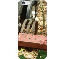 Equipment left in the woods iPhone Case/Skin
