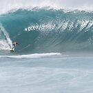 Surfing the curl by DKphotoart