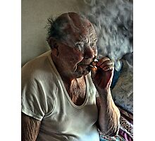 Smokin' Photographic Print
