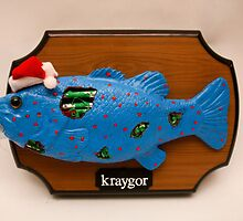 Kraygor the Cyber Fish by upperkace