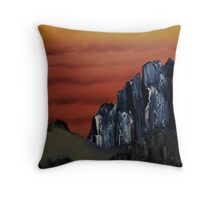 Mt Taishan Tibet Throw Pillow
