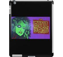 the evil dead iPad Case/Skin