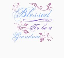 Blessed To Be A Grandma Womens Fitted T-Shirt