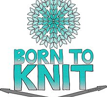 Born To Knit Turquoise Gradient by Kristin Omdahl
