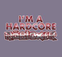 Hardcore Robloxer Kids Tee