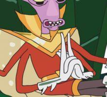 Rick and Morty: Prince Nebulon Sticker