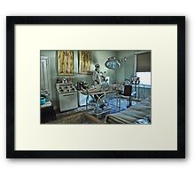 Dont Worry...The Surgeon Will Fix You Up!!! Framed Print