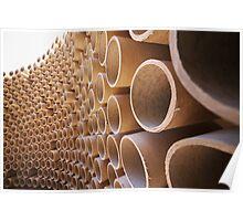 Tubes Warp Poster