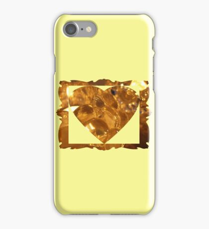 bunches of glass grapes iPhone Case/Skin