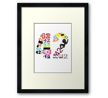 Variations on The Answer Framed Print