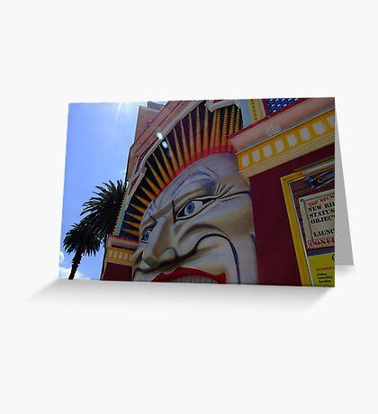 Luna Park - St Kilda, Melbourne Greeting Card
