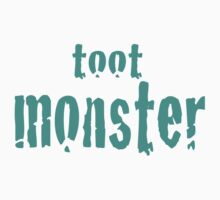 Toot Monster - Blue by CaptureRadiance