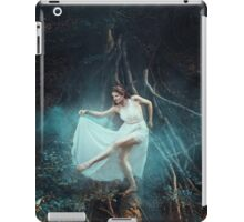 Dancing fairy fantasy girl long hair iPad Case/Skin