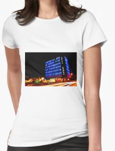 Blue Hotel Womens Fitted T-Shirt