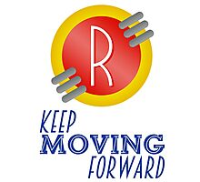 Keep Moving Forward - Meet the Robinsons Photographic Print
