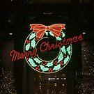 Christmas Wreath - Landscape by eegibson