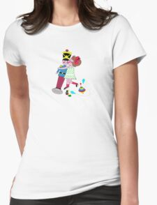 Vintage toys Womens Fitted T-Shirt
