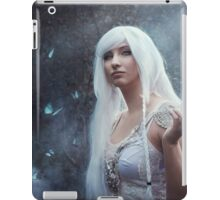 Elven girl with butterfly iPad Case/Skin
