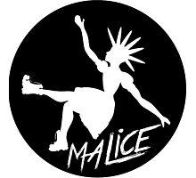 Malice Magazine Logo Photographic Print