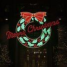 Christmas Wreath - Portrait by eegibson